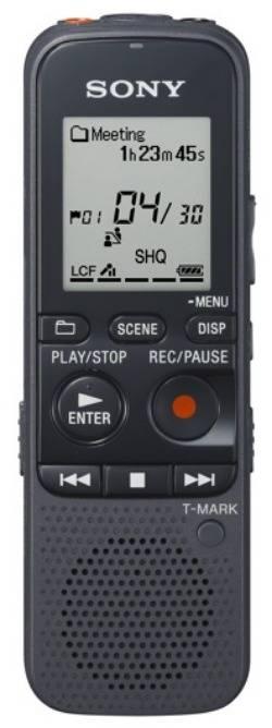 Диктофон 4Gb Sony ICDPX333M.CE7 черный - фото 1