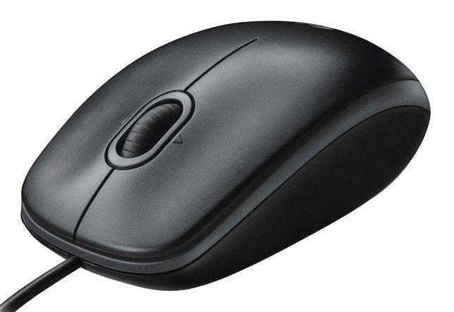 Мышь Logitech B100 черный - фото 2