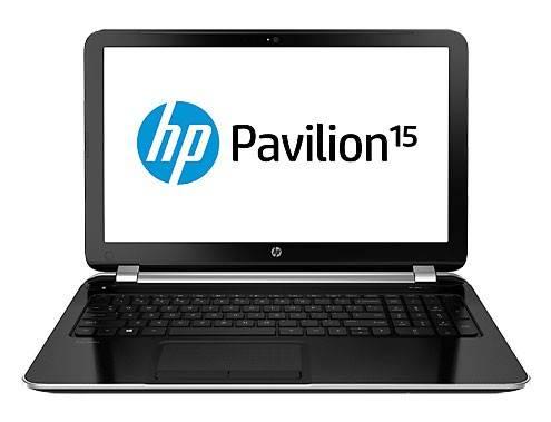 """Ноутбук 15.6"""" HP Pavilion 15-n001sr серебристый - фото 1"""