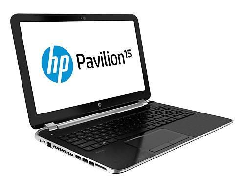 """Ноутбук 15.6"""" HP Pavilion 15-n001sr серебристый - фото 2"""