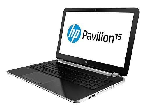 """Ноутбук 15.6"""" HP Pavilion 15-n001sr серебристый - фото 3"""