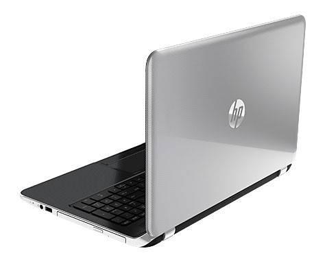 """Ноутбук 15.6"""" HP Pavilion 15-n058sr серебристый - фото 4"""
