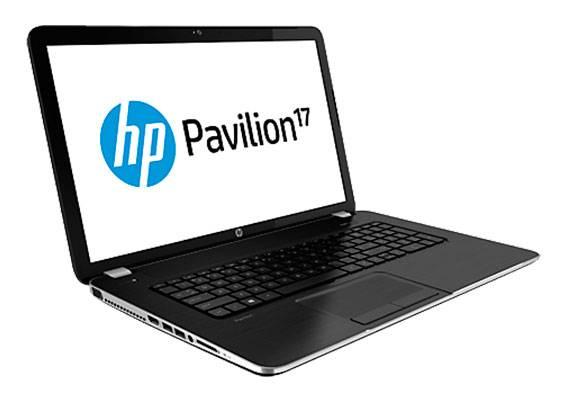"""Ноутбук 17.3"""" HP Pavilion 17-e012sr темно-серый - фото 5"""