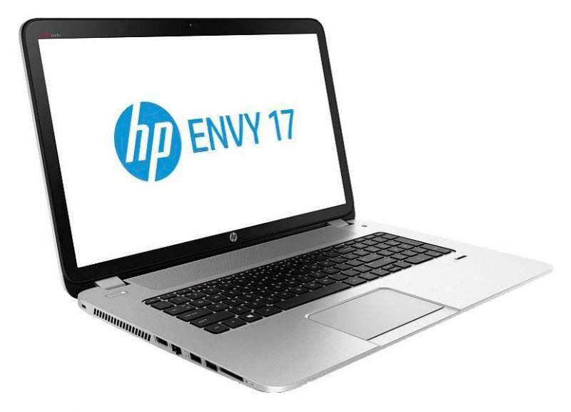 """Ноутбук 17.3"""" HP Envy 17-j012sr серебристый - фото 1"""