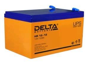 Батарея для ИБП Delta HR12-12, 12В, 12Ач - фото 1