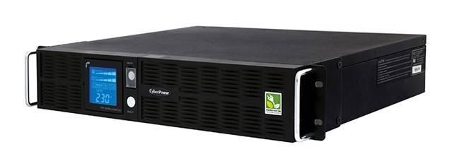 ИБП Cyberpower PR1500ELCDRT2U 1000Вт черный - фото 1