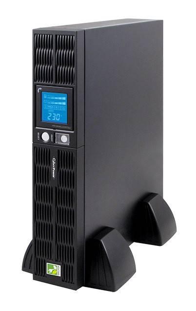 ИБП Cyberpower PR1500ELCDRT2U 1000Вт черный - фото 3