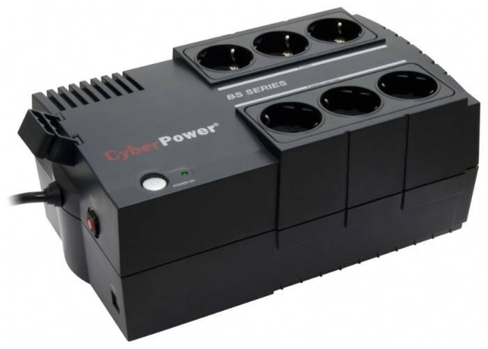 ИБП Cyberpower BS450E 270Вт черный - фото 1