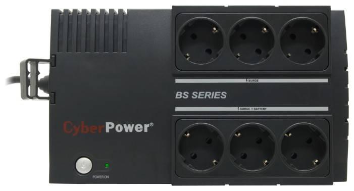 ИБП Cyberpower BS450E 270Вт черный - фото 2
