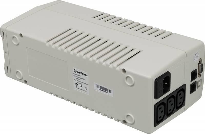 ИБП Cyberpower VALUE400EI-W 240Вт белый - фото 2