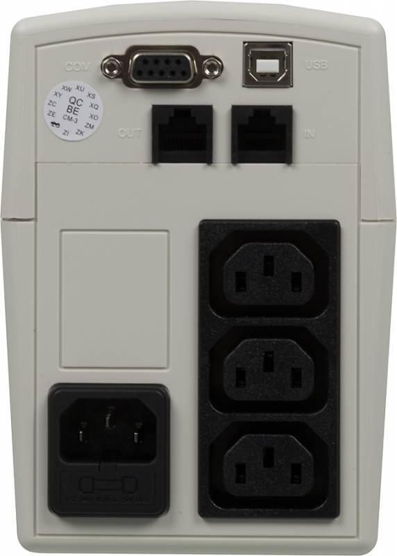ИБП Cyberpower VALUE400EI-W 240Вт белый - фото 3