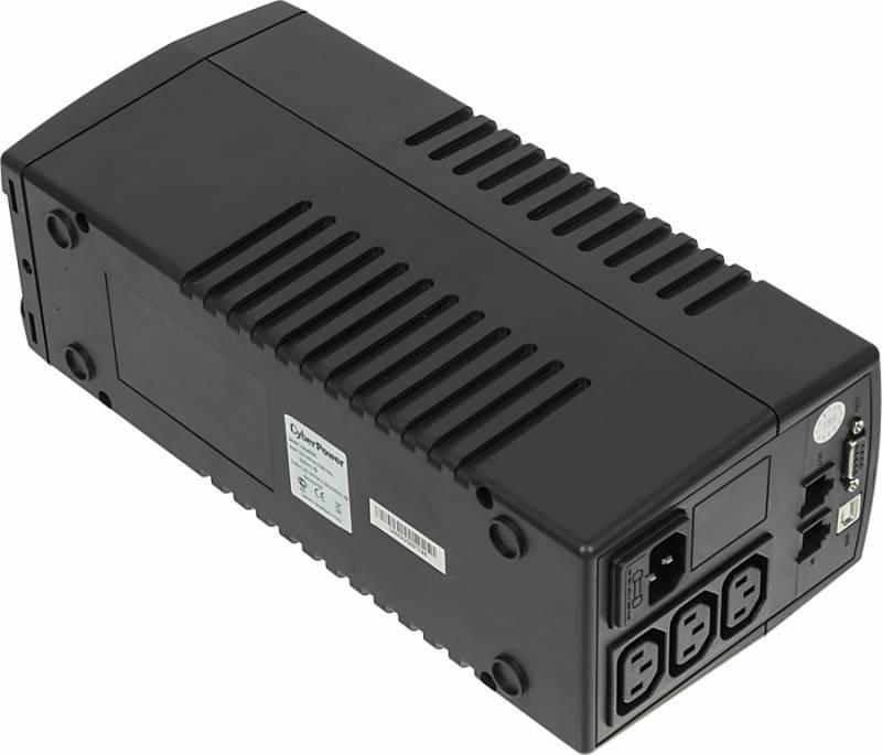 ИБП Cyberpower VALUE500EI-B 275Вт черный - фото 3