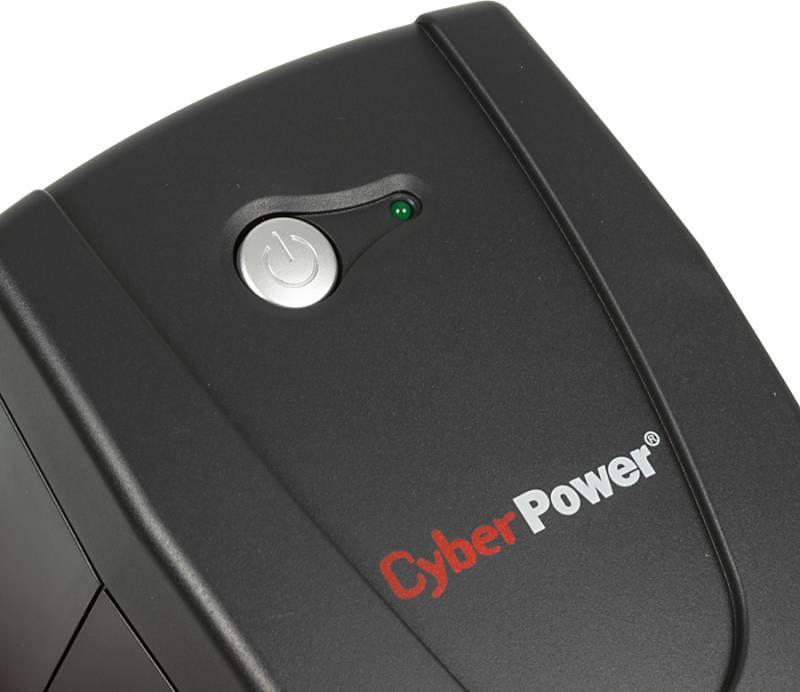 ИБП Cyberpower VALUE600EI-B черный - фото 4