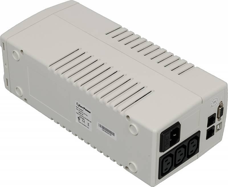 ИБП Cyberpower VALUE800EI-W 480Вт белый - фото 3