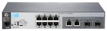 Коммутатор управляемый HPE 2530-8-PoE+ J9780A