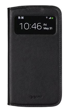 Чехол GGMM для Galaxy S 4 Window-S4 черный (SX02201) - фото 1