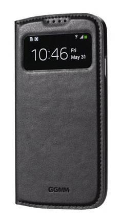 Чехол GGMM для Galaxy S 4 Window-S4 черный (SX02201) - фото 4