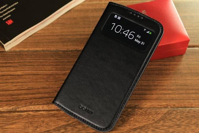 Чехол GGMM для Galaxy S 4 Window-S4 черный (SX02201) - фото 5
