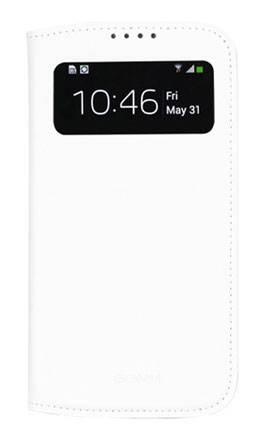 Чехол GGMM для Galaxy S 4 Window-S4 белый (SX02202) - фото 1