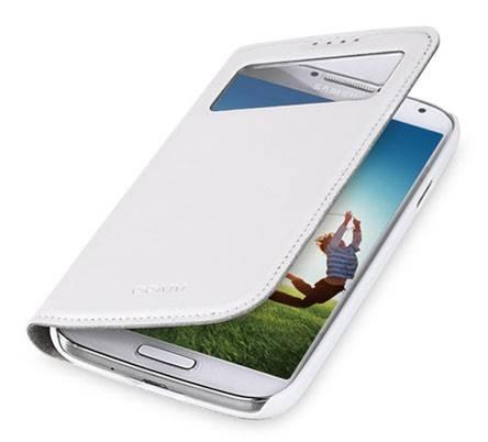 Чехол GGMM для Galaxy S 4 Window-S4 белый (SX02202) - фото 2