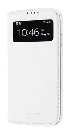 Чехол GGMM для Galaxy S 4 Window-S4 белый (SX02202) - фото 3