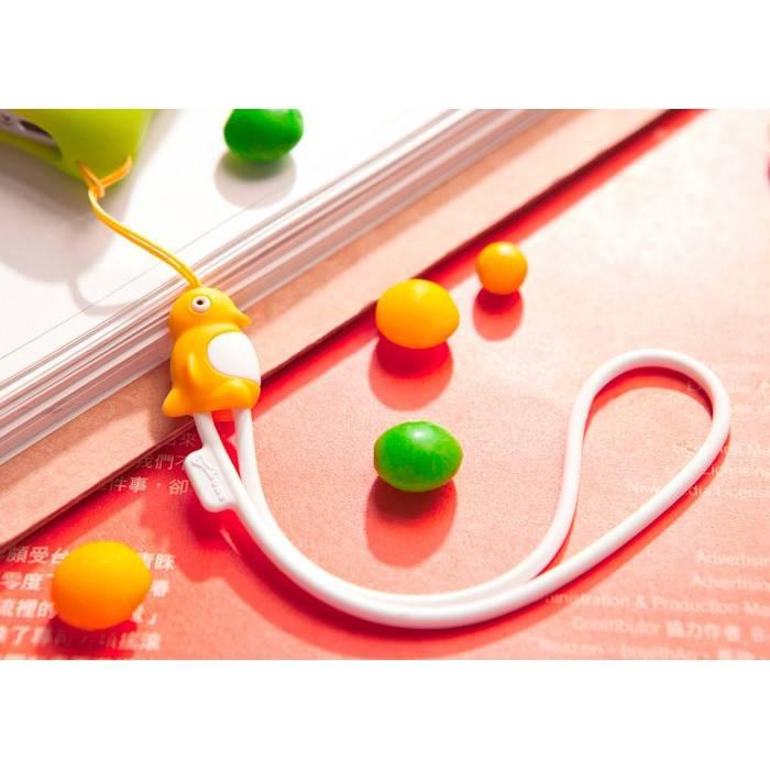 Шнурок Bone Candy Maru Strap для мобильного телефона/плеера purple (FE053-PU) - фото 4