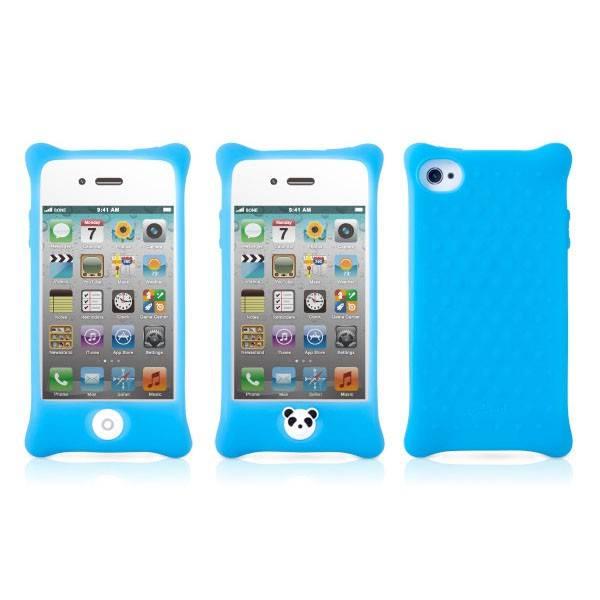 Чехол Bone для iPhone4S Bubble lt.blue (PH11011-B) - фото 3