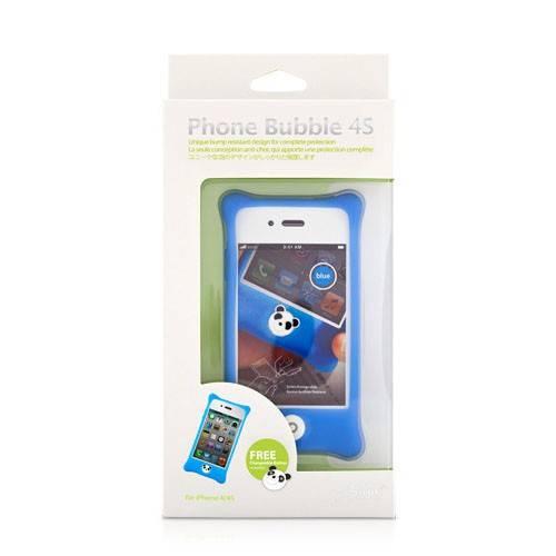 Чехол Bone для iPhone4S Bubble lt.blue (PH11011-B) - фото 13