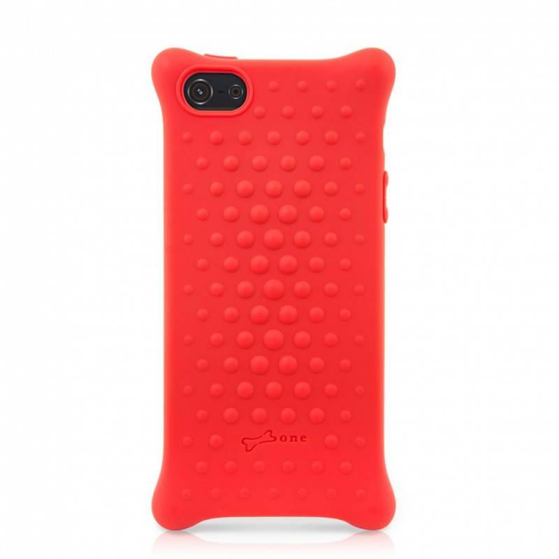 Чехол Bone для iPhone5 Bubble 5 red (PH12011-R) - фото 1