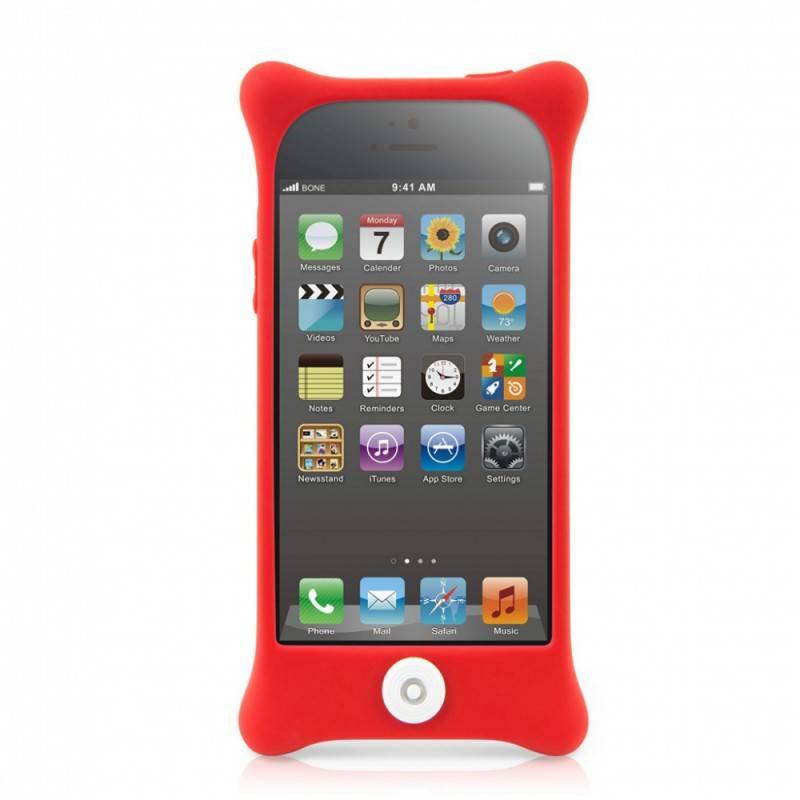 Чехол Bone для iPhone5 Bubble 5 red (PH12011-R) - фото 2
