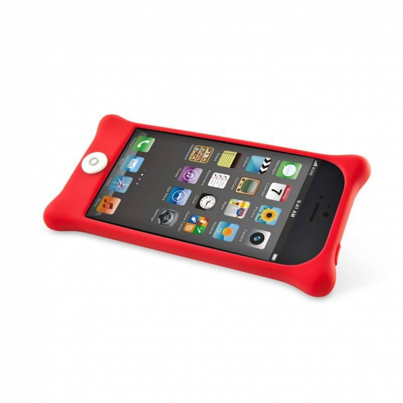Чехол Bone для iPhone5 Bubble 5 red (PH12011-R) - фото 5