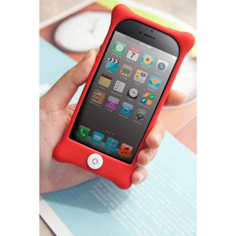 Чехол Bone для iPhone5 Bubble 5 red (PH12011-R) - фото 6