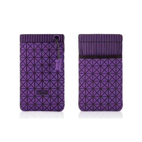 Чехол-сумочка Bone для iPhone4 Cell 4 black/purple (BA10011-1BKU) - фото 1