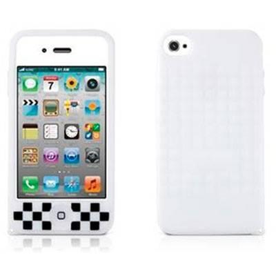 Чехол Bone для iPhone4S Cube 4S white (PH11071-W) - фото 3