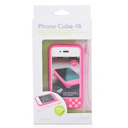 Чехол Bone для iPhone4S Cube 4S white (PH11071-W) - фото 8