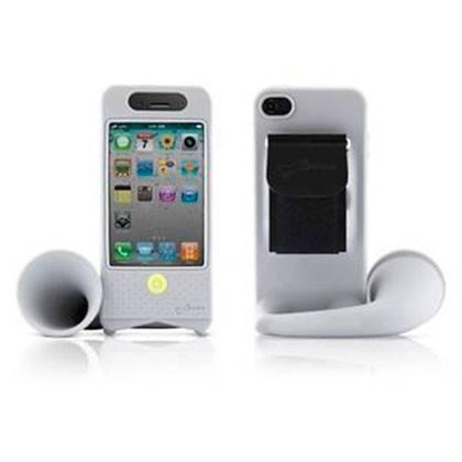 Чехол-подставка Bone для iPhone4/4S Horn Bike grey (LF11012-GR) - фото 2