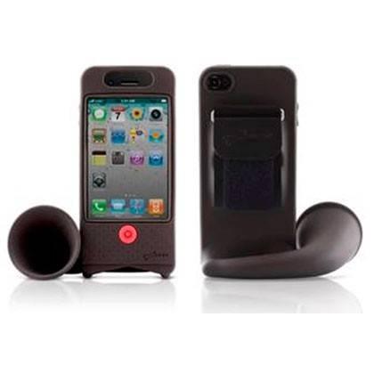 Чехол-подставка Bone для iPhone4/4S Horn Bike grey (LF11012-GR) - фото 3