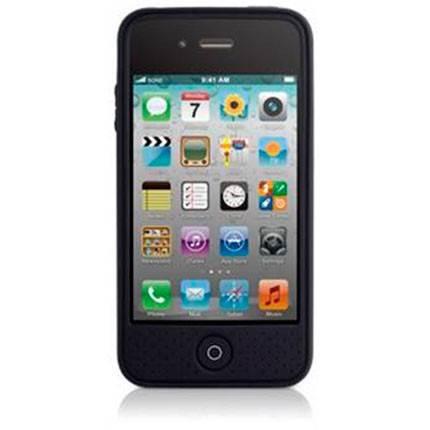 Чехол Bone для iPhone4S Leather black (PH11021-BK) - фото 1