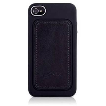Чехол Bone для iPhone4S Leather black (PH11021-BK) - фото 2