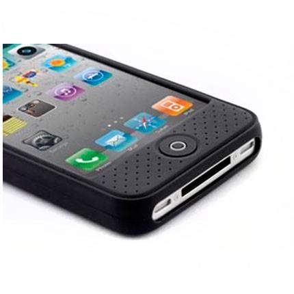 Чехол Bone для iPhone4S Leather black (PH11021-BK) - фото 3
