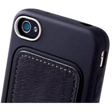 Чехол Bone для iPhone4S Leather black (PH11021-BK) - фото 4