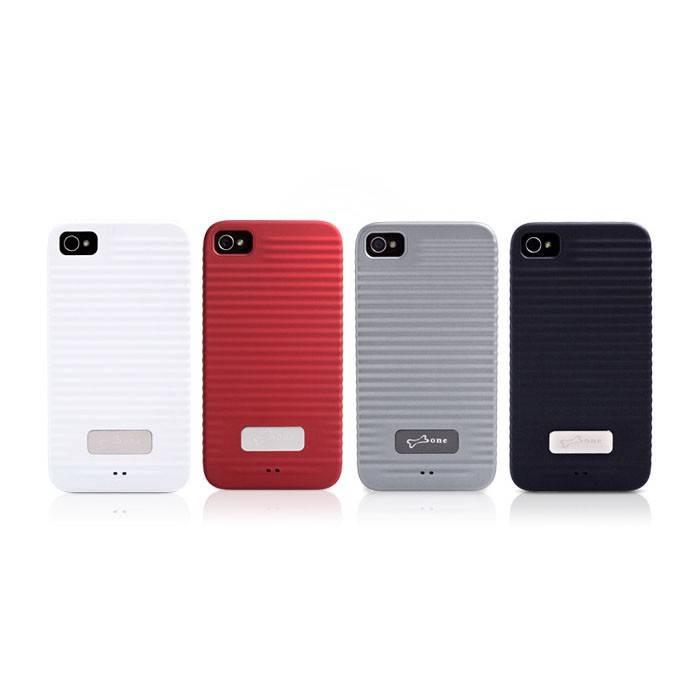 Чехол Bone для iPhone4S Ripple 4S white (PH11091-W) - фото 1