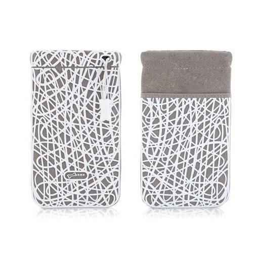 Чехол-сумочка Bone для iPhone Scribble grey (BA11031-BK) - фото 2