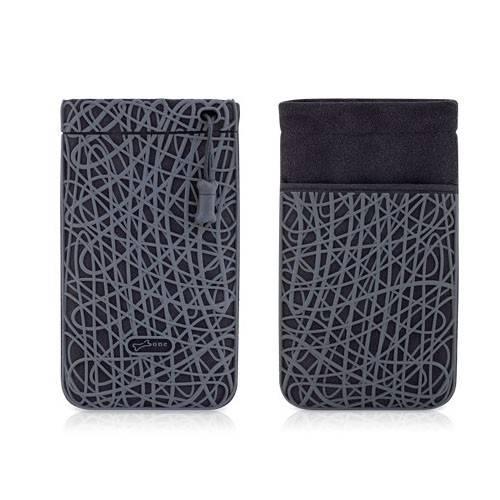 Чехол-сумочка Bone для iPhone Scribble grey (BA11031-BK) - фото 3