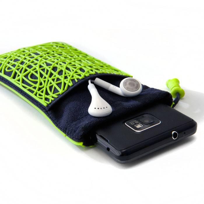 Чехол-сумочка Bone для iPhone Scribble grey (BA11031-BK) - фото 7