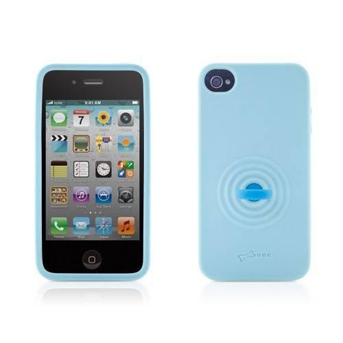 Чехол Bone для iPhone 4S Tail голубой (PH11041-B) - фото 3