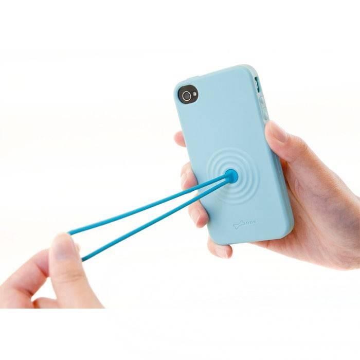 Чехол Bone для iPhone 4S Tail голубой (PH11041-B) - фото 4