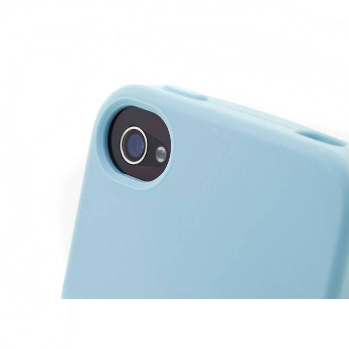 Чехол Bone для iPhone 4S Tail голубой (PH11041-B) - фото 9