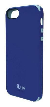Чехол iLuv для iPhone5 Regatta blue из поликарбона+термопластик (ICA7H321BLU) - фото 1