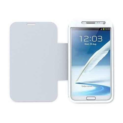 Чехол iLuv для Galaxy Note 2 Pocket Agent white премиальный натуральная кожа (ICS7J347WHT) - фото 1